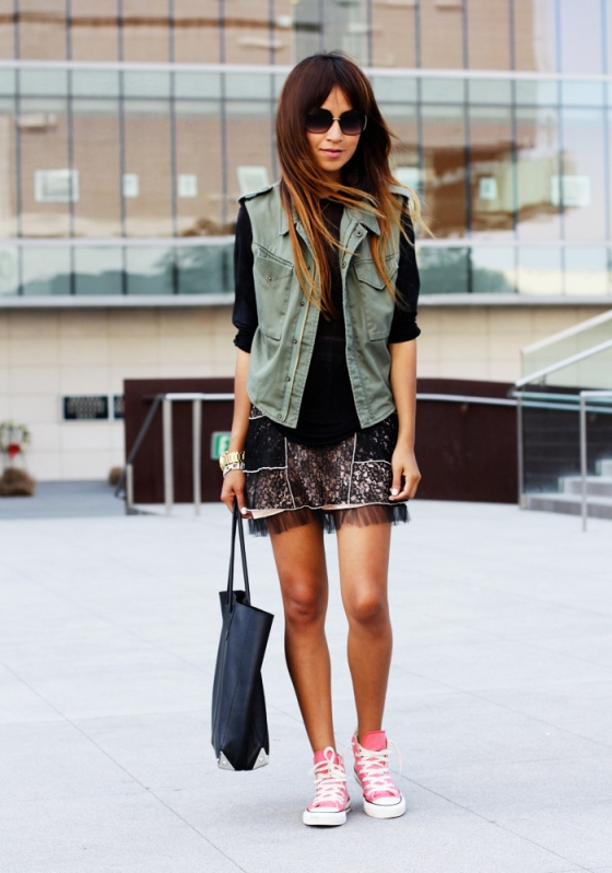 A blogueira Jules do www.sincerelyjules.com