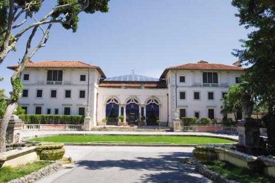 Fachada, Vizcaya Mansion