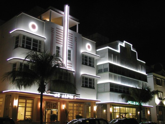 Distrito Art Deco em South Beach